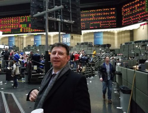 CloudCoin founder guest on trading floor of Chicago Board of Trade